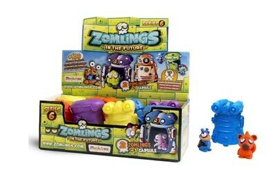Zomlings Serie 6 In The Future-  1 Capsula Con 2 Zomlings