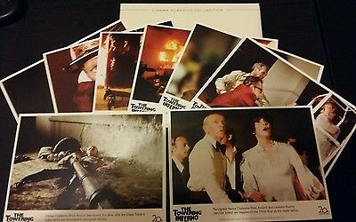 Towering Inferno promo lobby card set reproduction