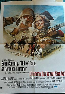 French Man who Would be king poster
