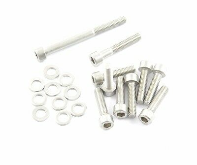 Set / Set Variator Screw CPI Hussar 50 VARIO Screws Lid - Stainless Steel