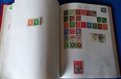 Old Derwent Stamp Album with Huge World Collection