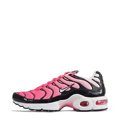 b7aa644f02 Nike Air Max Plus TN1 Tuned Junior Youth Girls Shoes Black/Racer Pink