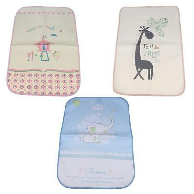 3pcs Baby Toddler Diaper Changing Pad Mat Waterproof Washable Changing Cover