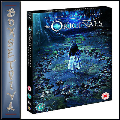 The Originals - The Complete Fourth Season - Season 4  *Brand New Dvd***