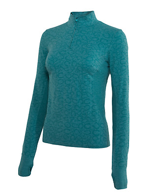 Noble Outfitters Revolution Womens Seamless Top - Spruce: Extra Large