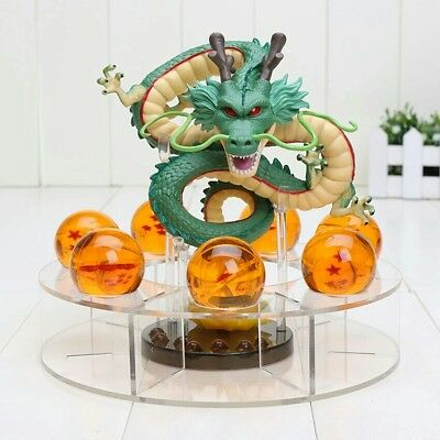 Modellino Action Figure Dragon Ball Z Super Shenron 15cm + sfere del drago