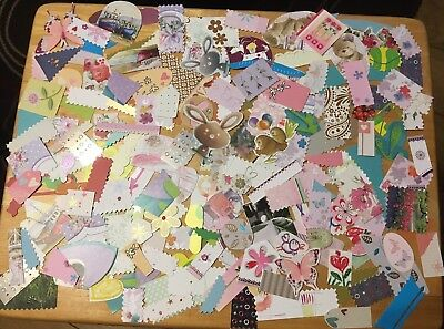 Card Toppers Embellishments Scrapbooking Assorted 150+