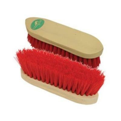 15% OFF ! Horse Master Fibre Dandy Brush- Red