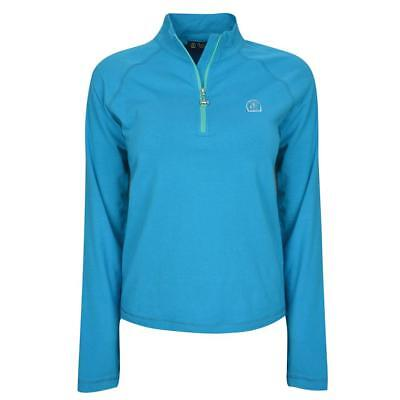 45% OFF ! Thomas Cook Equestrian Riding Top Womens Turquoise