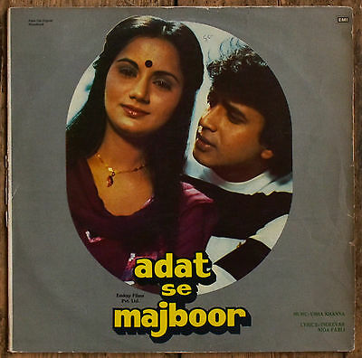 Bollywood LP Adat Se Majboor GATEFOLD ECLP 5767 HMV Label