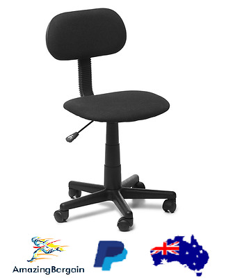 Deakin STUDENT CHAIR w/ Fabric Back & Seat, Small Size Office Chair NEW