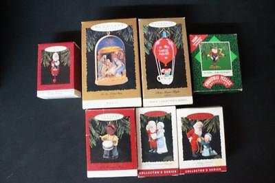 7 Hallmark Keepsake Ornaments, Chrismas Pizzazz, Magic, Collector's Series (40)