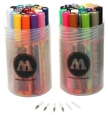 MOLOTOW - ONE4ALL ACRYLIC MARKER 127 HS,  --  Complete-Kit  --