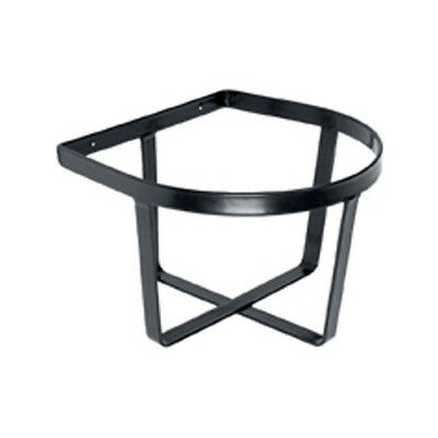 Stable Kit Bucket Holder (Wall-mounted) - One Size - Black
