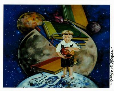 Ray Bradbury and Carol Heyer Hand Signed 5.5X4.25 Photo W/ Todd Mueller COA