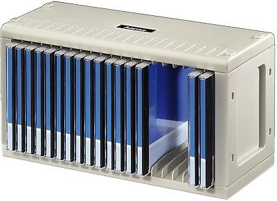 Hama 20 CD Rack High Quality for Easy Music Storage Shelf Compartment Stack NEW