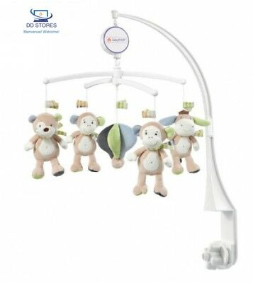 Babysun Mobile musical Rouliboules le singe