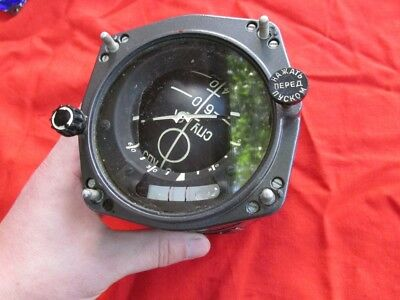 Military USSR Air Force Fighter Flight Command indicator
