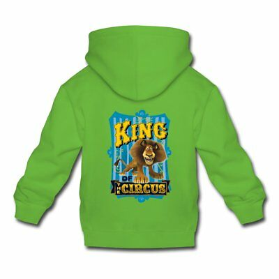 DreamWorks Madagascar Alex Kinder Premium Hoodie von Spreadshirt®