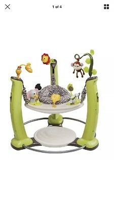 Evenflo ExerSaucer Jump and Learn Jumper, Jungle Quest =