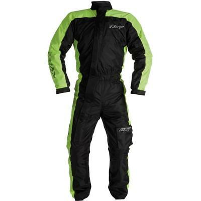 NEW RST Storm Water Proof 1 Piece Suit Black Yellow from Moto Heaven