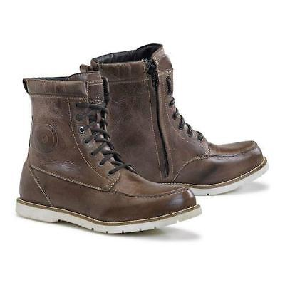 NEW Forma Naxos Waterproof Brown Boot from Moto Heaven