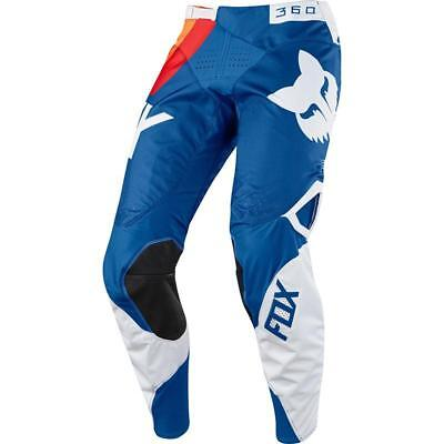 NEW Fox 2018 360 Draftr Blue Pants from Moto Heaven