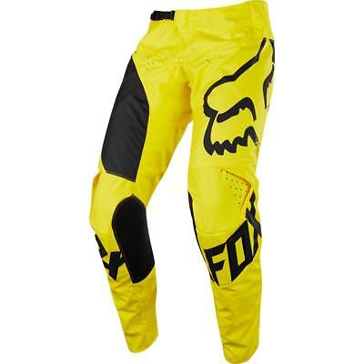 NEW Fox 2018 180 Mastar Yellow Pant from Moto Heaven