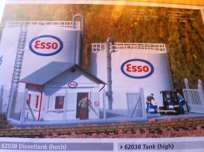 Piko G Scale 62037-39 Complete Tank Depot Building Kits