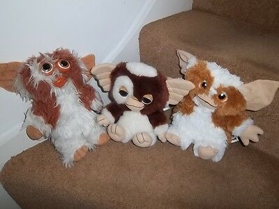 Moving Musical Whistling Gremlins Gizmo Mogwai Hasbro Squeaks Pms Soft Toys