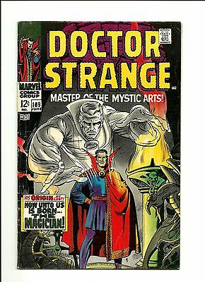 Marvel Comics Doctor Strange # 169 Origin & 1st Solo Series VG+ 4.5 Dr.