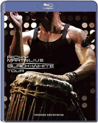 Ricky Martin...Live Black & White Tour, Blu Ray Used Very Good, Free Shipping