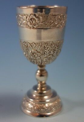 Aztec Rose by Sanborns Mexican Mexico Sterling Silver Cordial Cup (#1818)