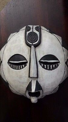 Ethnic AFRICAN Carved Wooden mask