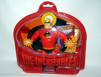 Disney The Incredibles Red MR INCREDIBLE Action Figure Doll Toy NEW! Lights up