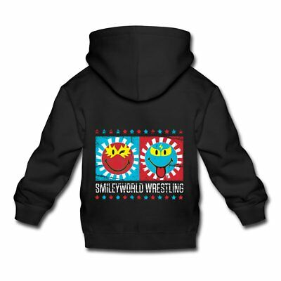 Smiley World Lucha Libre Wrestling Smileys Kinder Premium Hoodie von