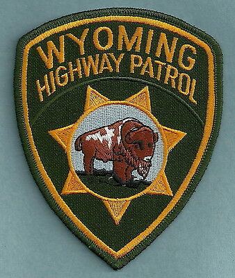 Wyoming Highway Patrol Police Patch