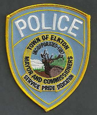 Elkton Maryland Police Patch