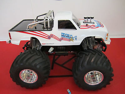 Vintage Kyosho Usa1 Usa 1 And Tracker Body Fits Nitro And Electric Truck