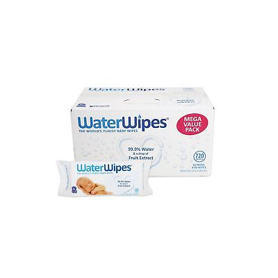 WaterWipes Sensitive Baby Wipes 12 Packs of 60 Count (720 Count) 720 Count New