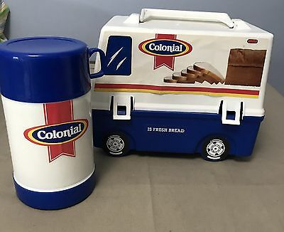 Colonial Bread Truck Lunchbox Thermos vintage advertising (#6)