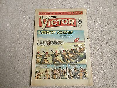 THE VICTOR COMIC,  No 176 - JULY 4TH 1964 - CAVALRY CHARGE
