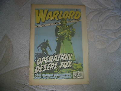 WARLORD comic No 11 , from 1974