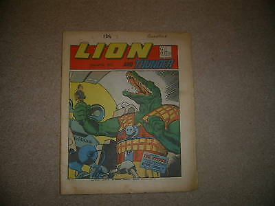 LION & THUNDER Comic, from 21st April 1973