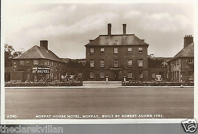 Moffat House Hotel  _ Old Unposted Real Photograph
