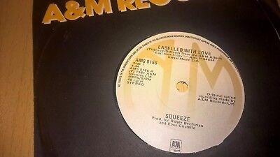 "SQUEEZE - Labelled With Love - IRISH PRESSING 7"" IRELAND"