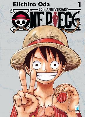 Fumetto Manga One Piece 1 - 20Th Anniversary Silver Limited