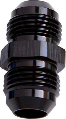 Aeroflow AF815-06BLK Male Flare Union Black -6an To -6an Straight