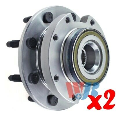 Pack of 2 Rear Wheel Hub Bearing Assembly replace 512449 HA950056 BR930770