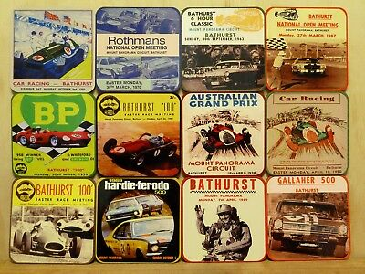 Drink Coaster Set Of 12 - Bathurst, Mount Panorama